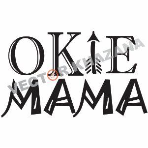 Free Okie Mama Logo Svg