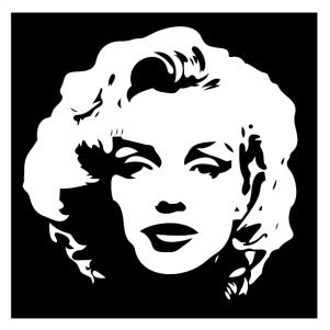 Marilyn Monroe Svg