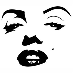 Sexy Marilyn Monroe Svg