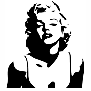 marilyn monroe art vector marilyn monroe stencil vector image svg psd png eps ai format marilyn monroe vector graphic arts downloads vector khazana