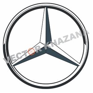 Mercedes Car Symbol Vector