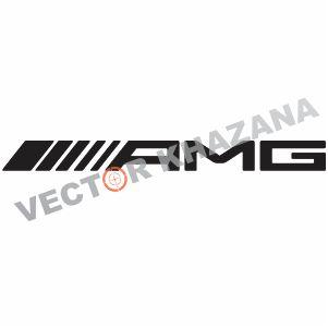 Mercedes Amg Logo Vector