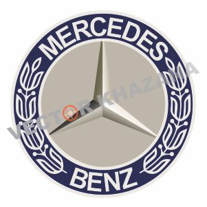 Mercedes Banz Car Logo Vector