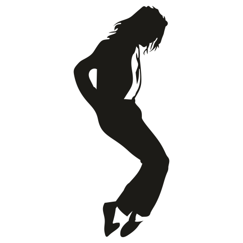 Michael Jackson Moonwalk Clipart