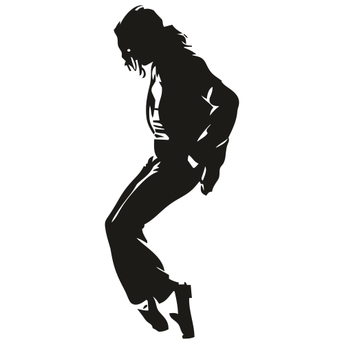 Michael Jackson Moonwalk Svg