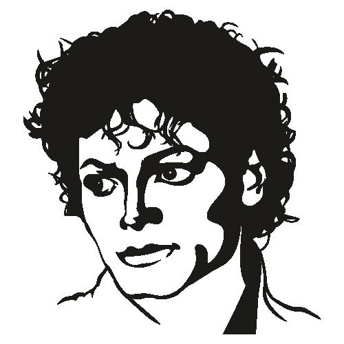 Michael Jackson Face Clipart