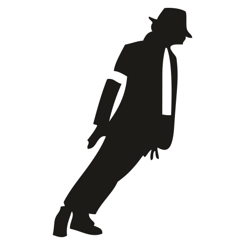 Michael Jackson Dance Pose Svg