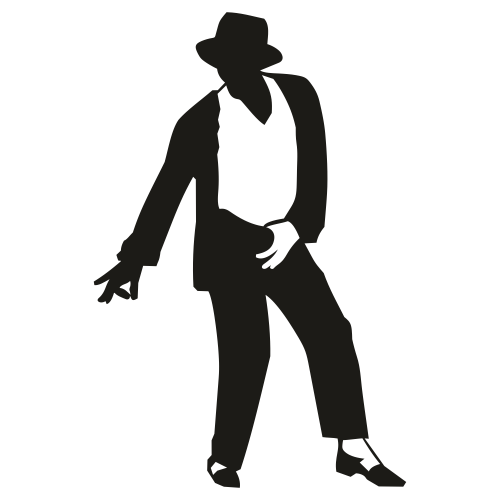 Michael Jackson Dancing Svg