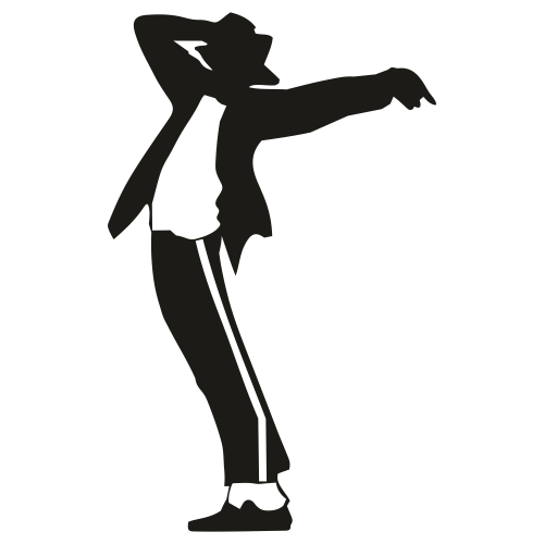 Michael Jackson Dance Pose Clipart