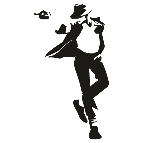 Michael Jackson Svg For Silhouette