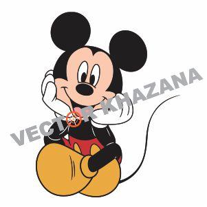 Mickey Mouse Logos Vector