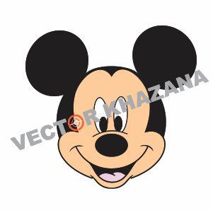 Mickey Mouse Head Logo Vector