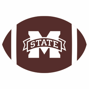 Mississippi State Ball Logo Svg