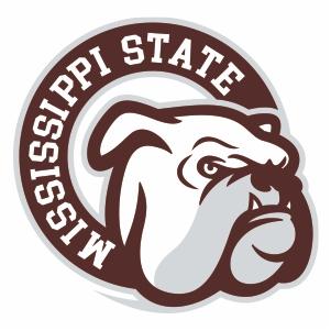 Mississippi State Bulldogs Head Logo Svg