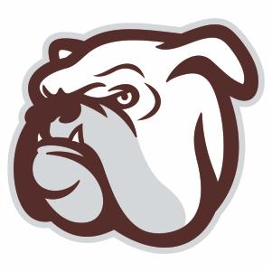Mississippi State Bulldogs Head Logo Cut