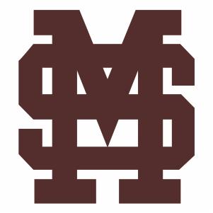 Mississippi State MS Logo Cut