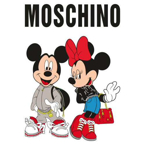 Mickey And Minnie Svg