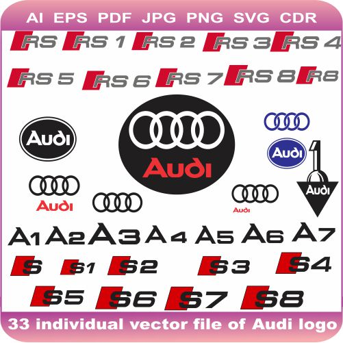 audi car pack logo