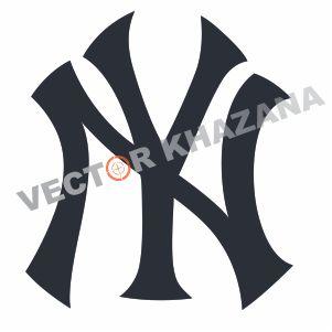 New York Yankees Sports Logo Vector
