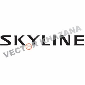 Nissan Skyline Logo Vector