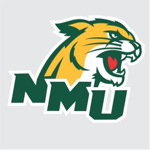 northern michigan wildcats logo vector
