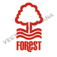 Nottingham Forest F.C Logo Vector