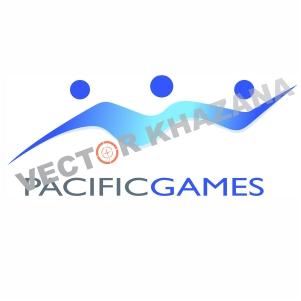Pacific Games Logo Vector
