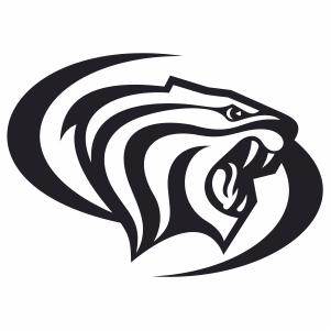 pacific tigers logo vector file