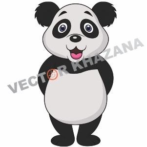 Panda Canal Logo Vector