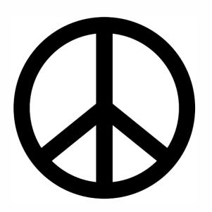 peace sign logo svg