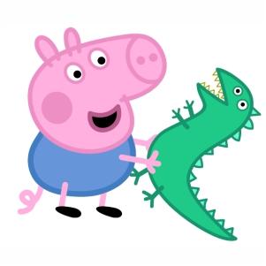 Peppa Pig Alligator Vector