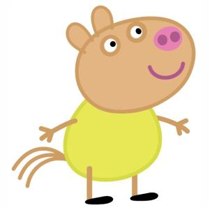Peppa Pig Delphine Donkey Vector
