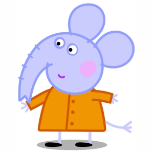 Peppa Pig Elephant Vector