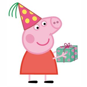 Peppa Pig Birthday Vector