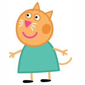 Peppa Pig Candy Cat Vector