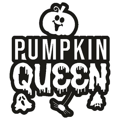 Pumpkin Queen Spooky Halloween Svg