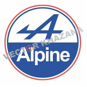 Renault Alpine Logo Vector