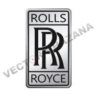 Rolls Royce Car Logo Vector