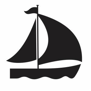 sail Boat svg file