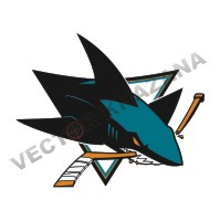 San Jose Sharks Logo Vector