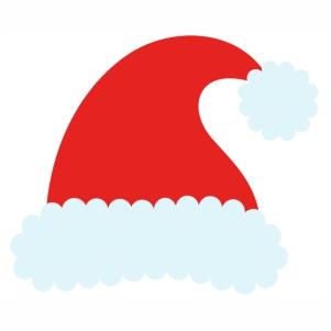 Santa Beautiful Cap svg cut file