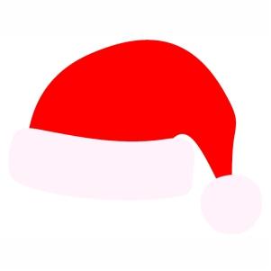 Santa Red Christmas Cap svg cut file