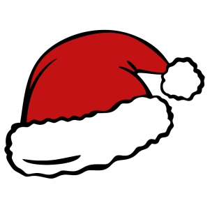 Santa Hat svg cut file