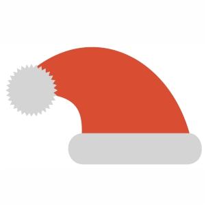Beautiful Christmas cap svg file