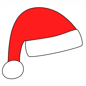 Jamboree Santa Cap svg cut file