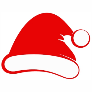 Santa Cap svg cut file