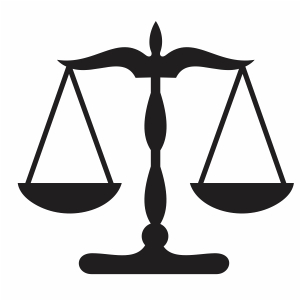 Scale Of Justice Svg