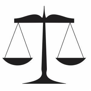 Legal Law Measurement Scale svg