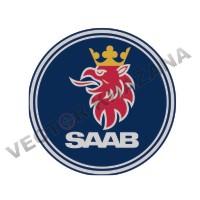 Saab Car Logo Vector
