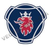 Scania Car Symbol Logo Vector